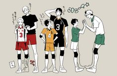 Liberos and their problematic Aces(?)! Yaku Morisuke & Haiba Lev, Nishinoya Yuu & Azumane Asahi, Sakunami Kousuke & Koganegawa Kanji (Haikyuu!!) ... Thought Asahi is the only Ace, Lev is an Ace in Training and Koganegawa is a poor excuse of a setter...