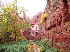 Die Bauten der Burg - Ostpreussen