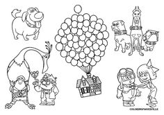 Disney Pixar Up Coloring Pages