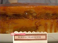 Receta: Maru Botana  - Siempre dulce - Torta Charlotte