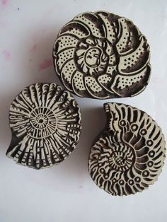 Leslie Tucker Jenison: Beautiful new wood stamps!