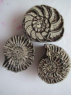 Leslie Tucker Jenison: Beautiful new wood stamps!