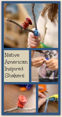 Build community, fine motor skills, and creativity with these Native American Inspired Shakers!