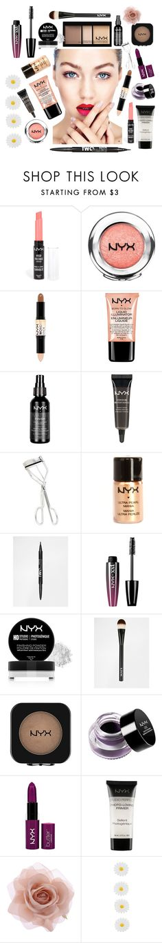 """NYX must-have kit"" by vanisilvania ❤ liked on Polyvore featuring beauty, NYX, Accessorize, Monsoon, NYFW, nyx and polyvoreeditorial"