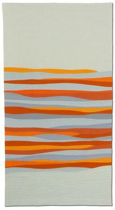 October Sky by Michèle-Renée Charbonneau | Quilt Matters | art quilts