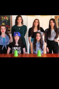 Cups from Pitch Perfect by Anna Kendrick - Cover by Cimorelli. They do this VERY well. I have this song stuck in my head all the time. Cimorelli Songs, Cimorelli Family, Cup Song, Country Music Videos, Cher Lloyd, Anna Kendrick, Pitch Perfect, Elementary Music, I Love To Laugh