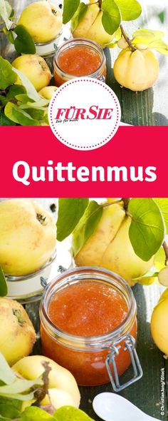 Mit diesem Rezept könnt ihr leckeres Quittenmus selber einkochen.