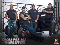 Kevin, Danny, Mike y Scott - Locos por los Autos, todos los jueves a las 10PM MEX - COL / 10.30PM VEN / 9PM CHI - ARG