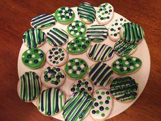 Seattle Seahawk Cookies
