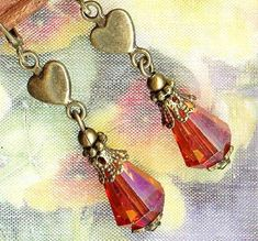 I have beads similar to the hearts, now I know what I can do with them.