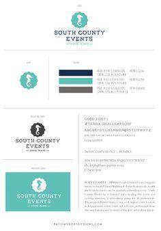 South County Logo Design - logo - logo design - branding - logo mark - wedding vendors in Rhode Island