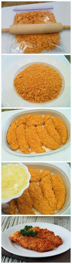 Cheez-It Chicken - Yummy Recipeez