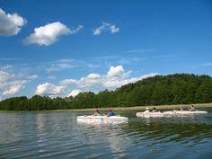 Szlak kajakowy rzeki Dajna.  www.it.mragowo.pl