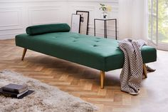 Posteľ čalúnená DREAMING GREEN. Nábytok Reaction. Lounge, Couch, Green, Furniture, Home Decor, Products, Environment, Chair, Cushion