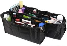 Pocket organizer Kangaroo Keeper set 2 two pieces kangaroo .- Pocket organizer Kangaroo Keeper set 2 two pieces kangaroo guardian Purse handbag organizer This bag has several pockets to insert everything right where you can find it MWS Handbag Organization, Makeup Organization, Handbag Organizer, Makeup Storage, Bag Storage, Cheap Handbags, Purses And Handbags, Diy First Aid Kit, Pocket Organizer