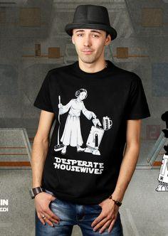 Desperate Star Wars T-Shirt von Kater Likoli, Mannheim, Deutschland | Design by Kristijan, Belgrad