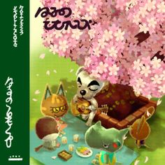 Spring Blossoms Games CF, NL, HHD Mood Good! Owned by Cole, Zucker, Rolf (NL), Sylvana (NL) Characters on cover Rocco, Katt, Peck, Limberg Live Aircheck Music Box Music K.K. Slider songs Agent K.K. • Aloha K.K. • Bubblegum K.K. • Café K.K. • Comrade K.K. • DJ K.K. • Forest Life • Go K.K. Rider • Hypno K.K.• I Love You • Imperial K.K. • K.K. Adventure • K.K. Aria • K.K. Ballad • K.K. Bazaar • K.K. Birthday • K.K. Blues • K.K. Bossa • K.K. Calypso • K.K. Casbah • K.K. Chorale • K.K. Condor…