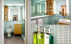 Modern Bathroom Inspiration: Hotel Ändra