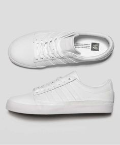 6cfdd10e864 Rayado Low Adidas Originals White - Leather Upper/Synthetic Sole