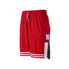 Men's Adidas Nebraska Cornhuskers climalite Shorts, Size: Medium, Red