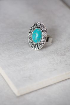 lovoda - Turquoise Oval Rope Ring, $8.95 (http://www.lovoda.com/turquoise-oval-rope-ring/)