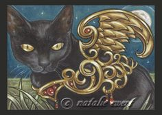 Hey, I found this really awesome Etsy listing at https://www.etsy.com/listing/96037261/bejeweled-cat-26-print-you-choose-25x35