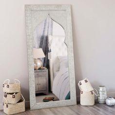 Miroir en bois H 160 cm LATIPUR