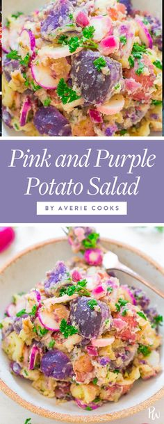 17 Surprising Potato Salad Recipes That Will Win the Summer Barbecue #potatosalad #potatosaladrecipes #veganrecipes #vegetarianrecipes #summerrecipes #bbqrecipes #cookoutrecipes #sidedishes #vegan