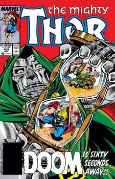 Doctor Doom vs. Thor and Hercules by Ron Frenz
