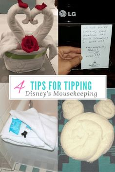 Disney World Tips - What is Mousekeeping and how to tip
