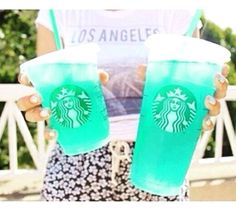 OMG!!! Where are people getting these bright colored Starbucks?!