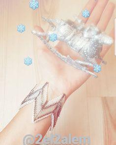 Bangle bracelet miyuki