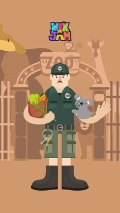 Zookeeper. Zookeepers take care of animals. They need to give a lot of love to the animals for them to grow well.