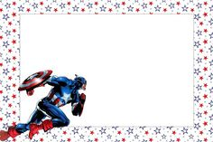 Captain America Party invitation Free printable DISCLAIMER First and foremost I take no credit for any of the FREE pattern links . Captain America Party, Captain America Birthday, Superhero Classroom Theme, Superhero Party, Free Printable Invitations, Party Printables, Willy Wonka, Guppies, Winnie The Pooh