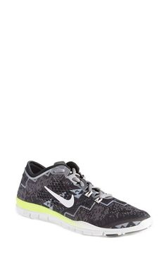 buy online 15166 4084b Free shipping and returns on Nike 'Free 5.0 TR Fit 4' Print Training Shoe