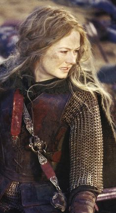 """I want to be a healer, and love all things that grow and are not barren.""- Eowyn (Miranda Otto)"