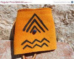 ON SALE Leather Cuff Bracelet with Native by FaeMoonWolfDesigns, $22.50