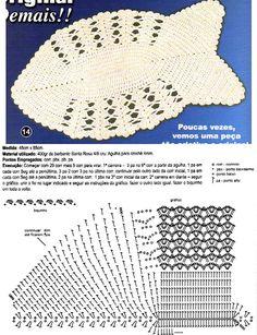 Fisch Teppich häkeln - crochet rug -  TAPETE DE CROCHE