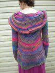 Pinwheel sweater in Mauna Loa Amazing. Isn't it gorgeous? #crochet