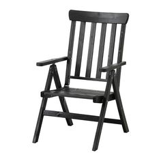 ÄNGSÖ Reclining chair, outdoor IKEA The back can be adjusted to six different positions. Easy to fold up and put away. Folding Furniture, Outdoor Dining Furniture, Outdoor Chairs, Folding Chairs, Ikea, Garden Dining Set, Dining Sets, Cinema Chairs, Cowhide Chair