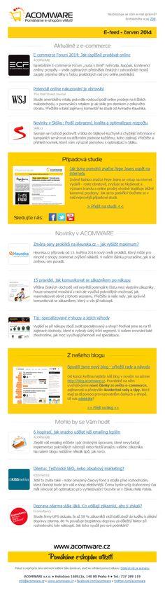V červnovém čísle našeho e-commerce jste se mohli dočíst o tom, jaký byl letošní ročník konference E-commerce Forum 2014, přinesli jsme informace ohledně novinek v Skliku, který nově nabízí informace o kvalitě a podílu zobrazení inzerátů a také jsme zveřejnili případovou studii Pepe Jeans – jak úspěšně vstoupit na internet.