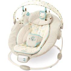 Bright Starts - Comfort & Harmony Cradling Baby Bouncer, Biscotti Baby