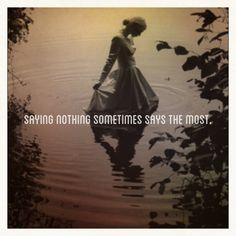 """☼ Emily Dickinson ☼ """"Saying nothing sometimes says the most. Poem Quotes, Words Quotes, Wise Words, Funny Quotes, Sayings, Life Quotes, Emily Dickinson Poems, American Poets, Literary Quotes"""