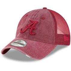 013deba743d70 Alabama Crimson Tide New Era Tonal Washed Trucker 9TWENTY Adjustable Hat –  Crimson