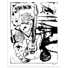 My Operation Ivy Guitar (Black & White Edition)