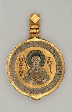 Relicario de San Demetrios. Siglo 13