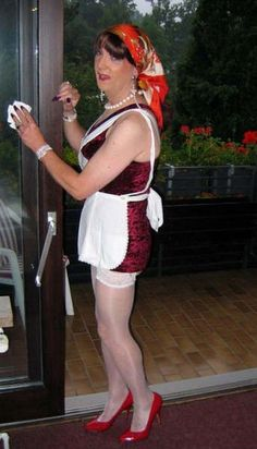 Ms LynnE, I'm nearlyfinishe my chores for you and I'll be ready to present, hope you approve, sissy paussy slave Jasmine xx (PSJ) Girls Sweaters, Tgirls, Housewife, Trout, Pretty Outfits, Pink Girl, Blouse, Jasmine, Maid