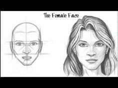 How to Draw the Female Face❤️