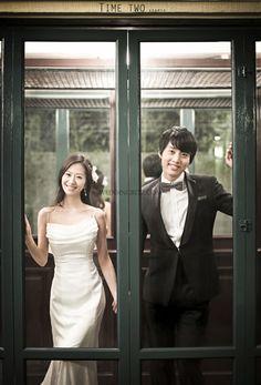 Korea Pre Wedding Photoshoot Review by WeddingRitz.com » Time Two Studio Sample - Korea pre-wedding photo shoot