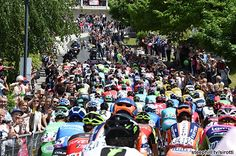 2016 giro-d-italia stage-17 - The roll out from Molveno